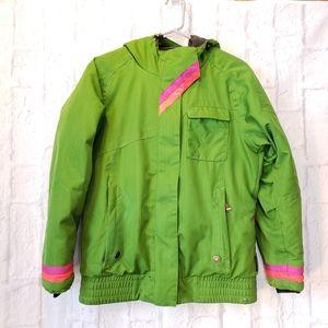 OBERMEYER Alice Jacket Green Winter Coat